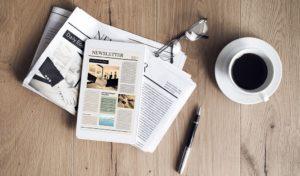 Gedruckt oder digital: Der Newsletter ist ein effektives Kommunikationsinstrument.